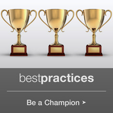 Best Practices: Be a Champion
