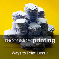Reconsider Printing: Ways to Save Documents